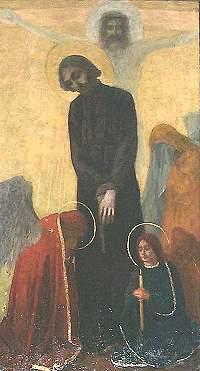 Obraz św. Andrzeja Boboli z Sanktuarium Narodowego Relikwie Świętego