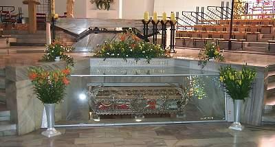 Relikwie Świętego Andrzeja Boboli z Sanktuarium Narodowego