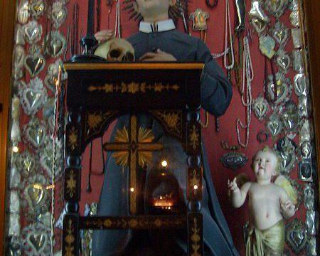 Św. Gerard Majella San Gerardo Maiella.jpgItaliano: San Gerardo Maiella, chiesa di Santa Brigida, Napoli, opera anteriore al 1905.Data17 stycznia 2010(2010-01-17)ŹródłoPraca własnaAutorVito Calise fot.wikipedia