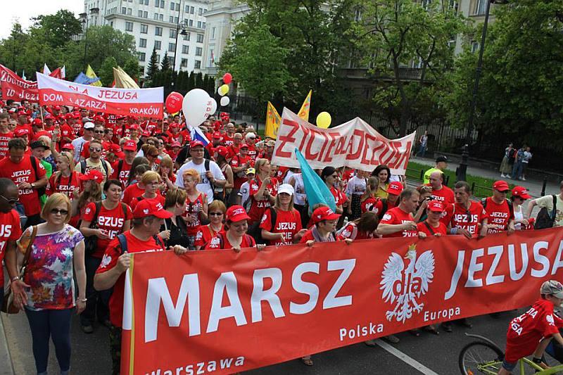 Ogólnopolski Marsz dla Jezusa, Warszawa 15.06.2014
